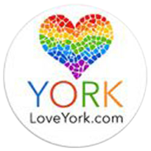 Love York Logo Square