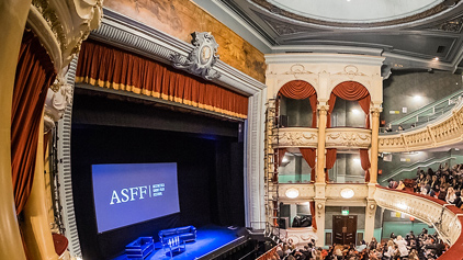Event filming services for Yorkshire's Aesthetica Short Film Festival